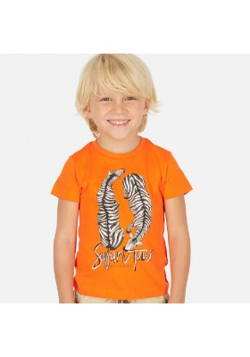 "Camiseta manga corta ""safari tour"" de MAYORAL para niño modelo 3063"