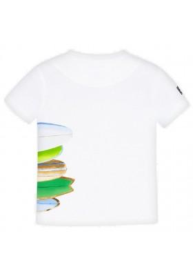 Camiseta manga corta tablas de MAYORAL para niño modelo 3067