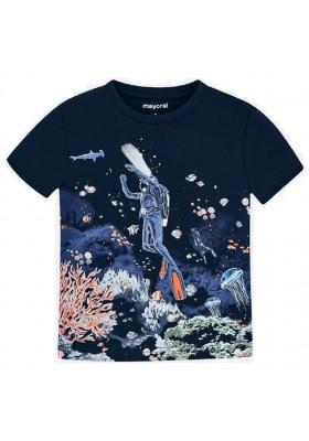 "Camiseta manga corta ""glow in dark"" de MAYORAL para niño modelo 3069"