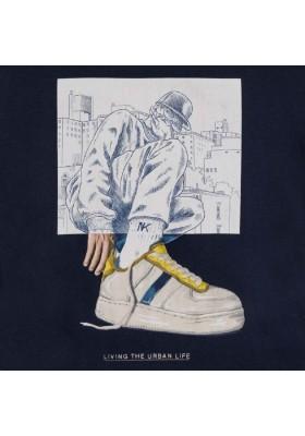"Camiseta manga corta ""urban life"" de MAYORAL para niño modelo 6056"
