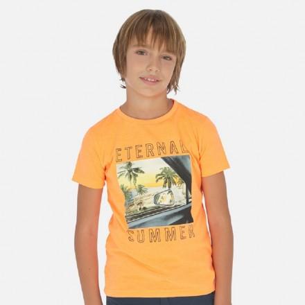 "Camiseta manga corta ""eternal summer"" de MAYORAL para niño modelo 6063"