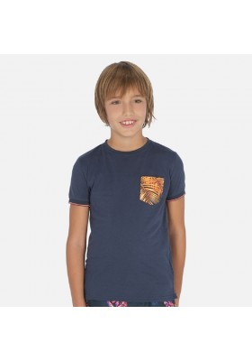 Camiseta manga corta bolsillo de MAYORAL para niño modelo 6064