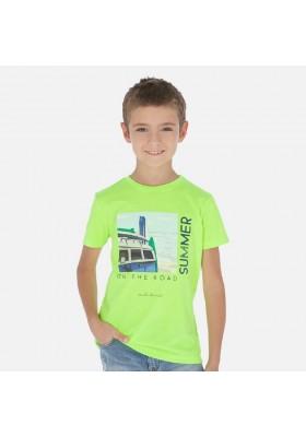 "Camiseta manga corta ""on the road"" de MAYORAL para niño modelo 6068"