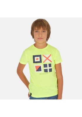 Camiseta manga corta banderas de MAYORAL para niño modelo 6070