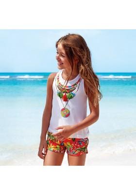Conjunto short collar de MAYORAL para niña modelo 6262