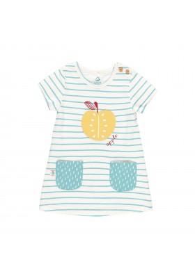 Vestido punto de bebé niña BOBOLI modelo 609061