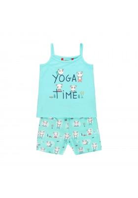 Pijama punto elástico de niña BOBOLI modelo 929022