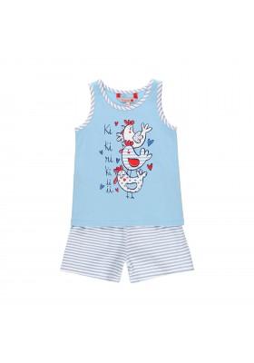 Pijama punto elástico de niña BOBOLI modelo 929112