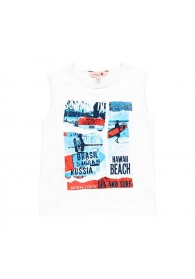 Camiseta manga corta punto liso de niño BOBOLI modelo 839088