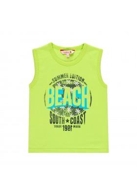 Camiseta manga corta punto liso de niño BOBOLI modelo 839000
