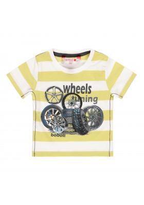 Camiseta manga corta punto liso de bebé niño BOBOLI modelo 329026