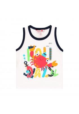 Camiseta manga corta punto liso de bebé niño BOBOLI modelo 819064