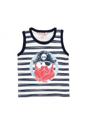 Camiseta manga corta punto liso de bebé niño BOBOLI modelo 819031