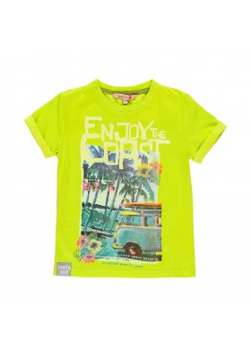 Camiseta manga corta punto de niño BOBOLI modelo 529028