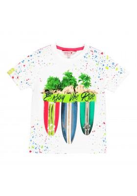Camiseta manga corta punto de niño BOBOLI modelo 529040