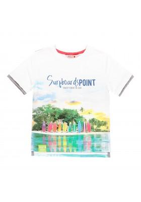 Camiseta manga corta punto de niño BOBOLI modelo 529073