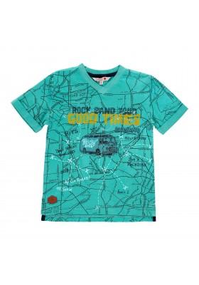 Camiseta manga corta punto flamé de niño BOBOLI modelo 519050