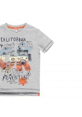 Camiseta manga corta punto liso de niño BOBOLI modelo 519038