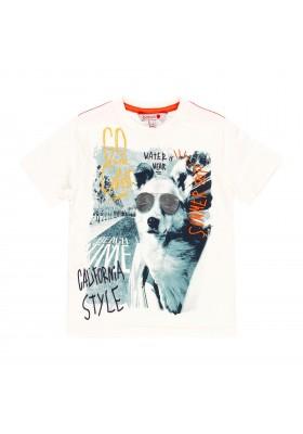 Camiseta manga corta punto liso de niño BOBOLI modelo 519072