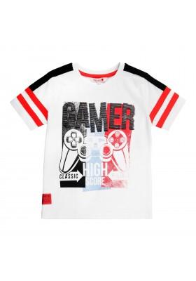 Camiseta manga corta punto liso de niño BOBOLI modelo 509149