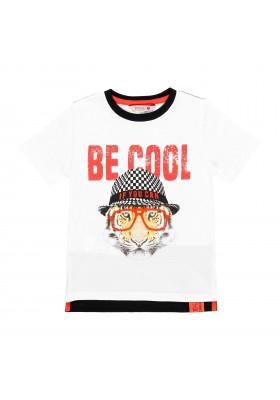 Camiseta manga corta punto liso de niño BOBOLI modelo 509105