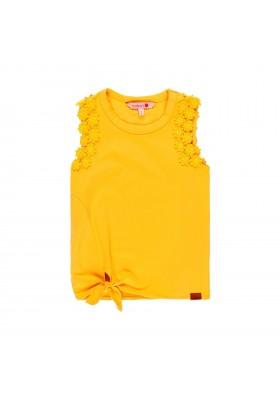 Camiseta manga corta punto elástico de niña BOBOLI modelo 409047