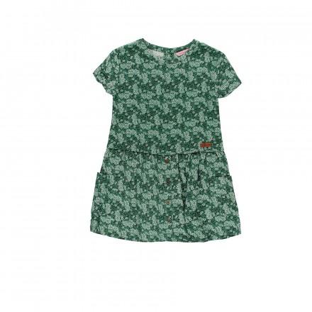 Vestido viscosa de niña BOBOLI modelo 409036