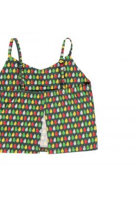 Camiseta manga corta punto elástico de niña BOBOLI modelo 439084