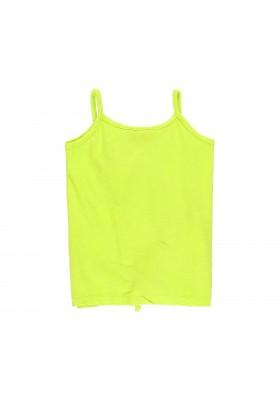 Camiseta manga corta punto flamé de niña BOBOLI modelo 439028