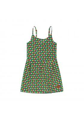 Vestido punto elástico de niña BOBOLI modelo 439185