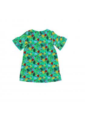 Vestido viscosa de niña BOBOLI modelo 439017