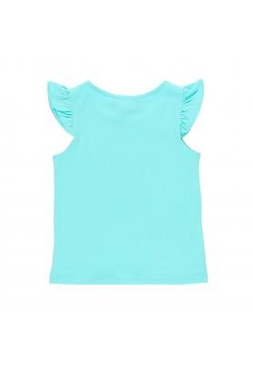 Camiseta manga corta punto elástico de niña BOBOLI modelo 429106