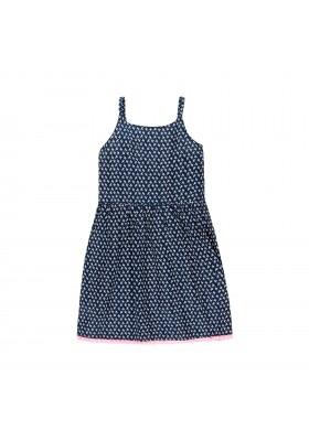Vestido viscosa de niña BOBOLI modelo 429038
