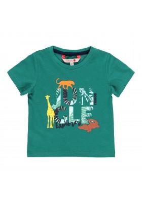Camiseta manga corta punto liso de bebé niño BOBOLI modelo 319036