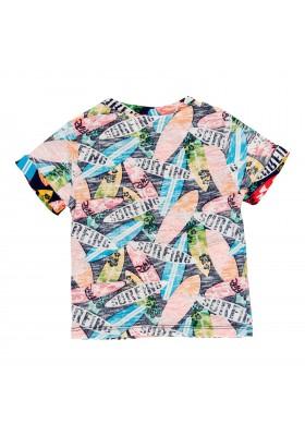 Camiseta manga corta punto flamé de bebé niño BOBOLI modelo 339061