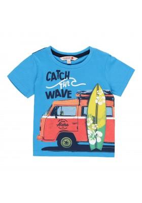 Camiseta manga corta punto liso de bebé niño BOBOLI modelo 339050