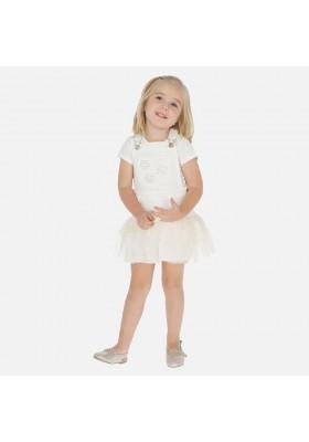 Falda peto volante tul de MAYORAL para niña modelo 3908