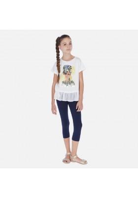Conjunto leggings niña pañuelo de MAYORAL para niña modelo 6717