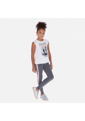 Leggings banda lateral de MAYORAL para niña modelo 6715
