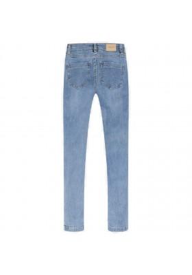 Pantalon largo tejano fantasi de MAYORAL para niña modelo 6530