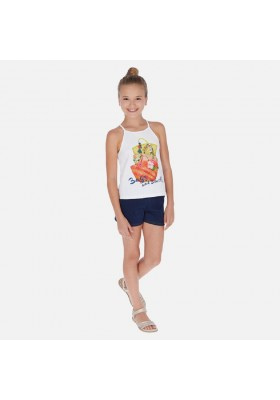 Conjunto short cestas de MAYORAL para niña modelo 6261