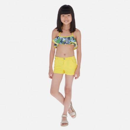 Pantalon corto felpa de MAYORAL para niña modelo 6255