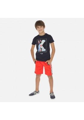 Bermuda felpa bandas de MAYORAL para niño modelo 6248