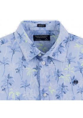 Camisa manga corta estampada de MAYORAL para niño modelo 6149