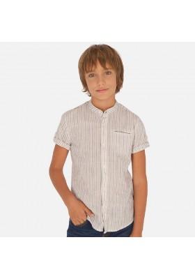 Camisa manga corta cuello mao de MAYORAL para niño modelo 6148