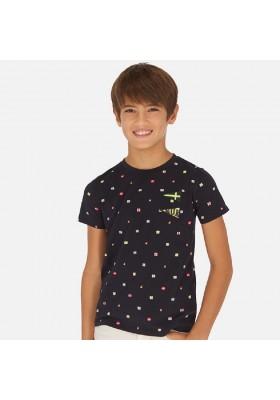 Camiseta manga corta estampada de MAYORAL para niño modelo 6071