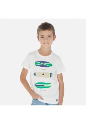"Camiseta manga corta ""surfing"" de MAYORAL para niño modelo 6067"