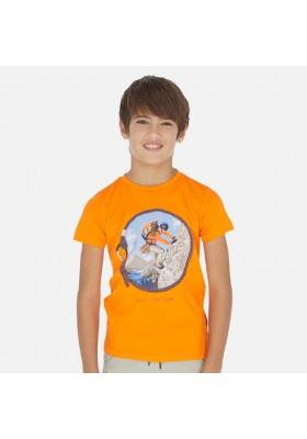 Camiseta manga corta circulo de MAYORAL para niño modelo 6065