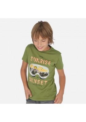 "Camiseta manga corta ""sunrise"" de MAYORAL para niño modelo 6062"