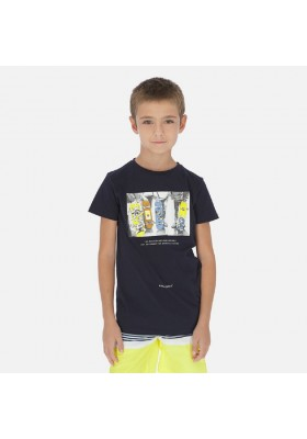 Camiseta manga corta skater de MAYORAL para niño modelo 6059
